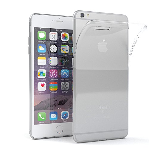 Apple iPhone 6S Plus / 6 Plus Hülle, EAZY CASE Ultra Slim Cover 'Clear' - Premium Handyhülle Transparente Schutzhülle, Smartphone Case in Transparent