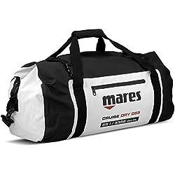 Mares Cruise Dry D55 Sac Étanche Adulte Unisexe, Noir/Blanc, Une Taille