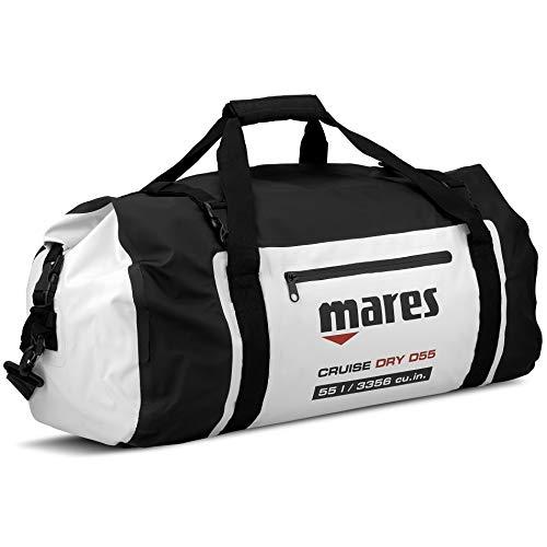 Mares Unisex- Erwachsene Cruise Dry D55 Tauchrucksäcke, schwarz/weiß, One Size
