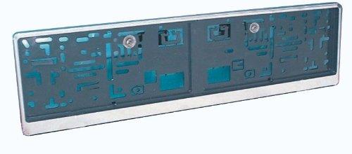 Preisvergleich Produktbild IWH 12011 Kennzeichenhalter Edelstahl