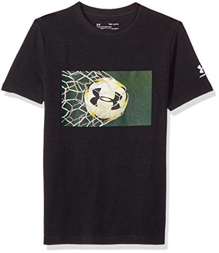 T Shirt Armour Goal Under 'y Pour Boys Courtes Homme Manches Noir À XxfXwq4aI