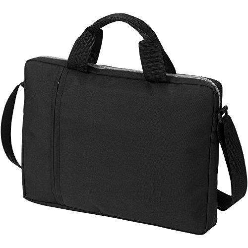 Borsa conference porta computer 14'' - solido nero/grigio solido nero/grigio