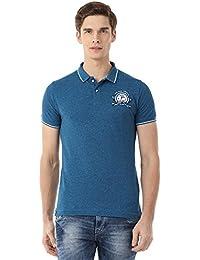 Classic Polo Blue Polo T-shirt For Men