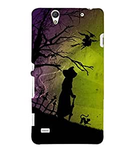 Ebby Printed back cover for Sony Xperia C4(Premium Designer case)