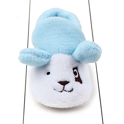 Ouneed® Krabbelschuhe , Art und Weisebaby Schuh Turnschuh weiche alleinige Kleinkind Schuhe Blau