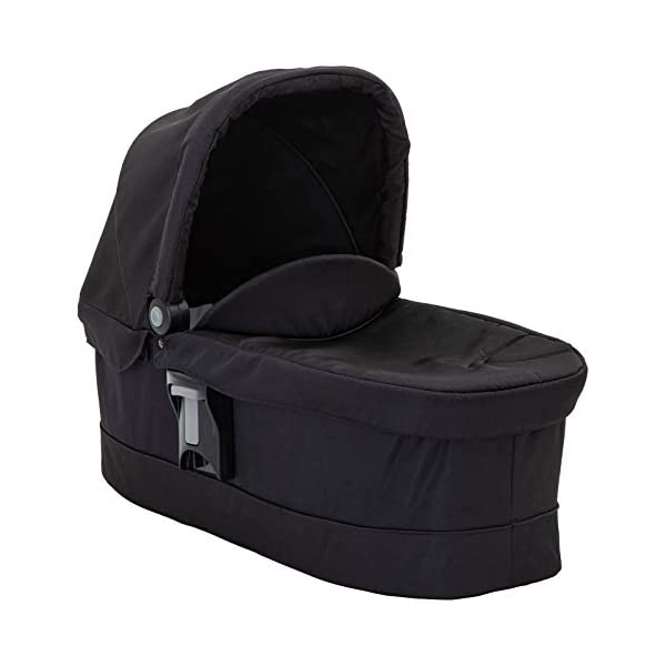 Garco Evo Pushchair and Luxury Carrycot, Black/Grey with SnugRide iSize Infant Car Seat, Midnight Black Graco Versatile pushchair with reversible seat that can lie flat Carrycot suitable from birth to approximately 6 months Rear-facing car seat for infants, suitable from birth up to 15 months (40-87cms) 3
