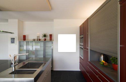 Infrarotheizung Infrarot 700 Watt Metall-Premium Weiss Wand & Deckenmontage Glaswärmt Heizung
