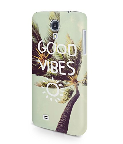 Good Vibes Only Palm Trees California Summer Plastic Snap-On Case Cover Shell For Samsung Galaxy S4