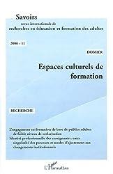Espaces culturels de formation, Savoirs n°11