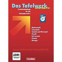 Das Tafelwerk interaktiv - Westliche Bundesländer: Schülerbuch mit CD-ROM