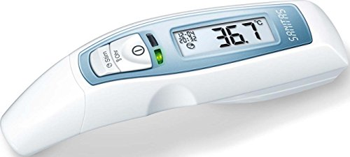 Sanitas 6-in-1 Multifunktions Thermometer Weiß SFT 65
