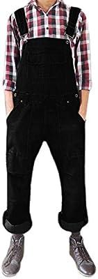 Men Women Unisex Denim Onesie Dungarees All in One Piece Bib Overalls 100% Cotton in different colours