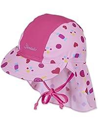 Sterntaler Baby-Mädchen Mütze Schirmmütze M. Nackenschutz