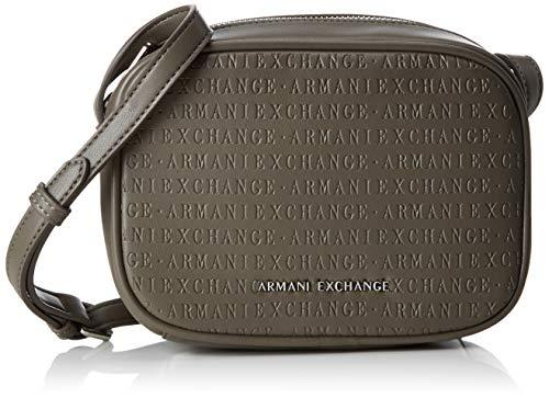 0c7fcf4b6b62bc ARMANI EXCHANGE Small Crossbody Bag - Borse a tracolla Donna, Marrone  (Taupe),