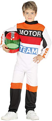Boys Girls TT Racer Motorbike Job Occupation Sport Superbikes World Book Day Week Fancy Dress Costume Outfit (7-9 - Racer Boy Kostüm