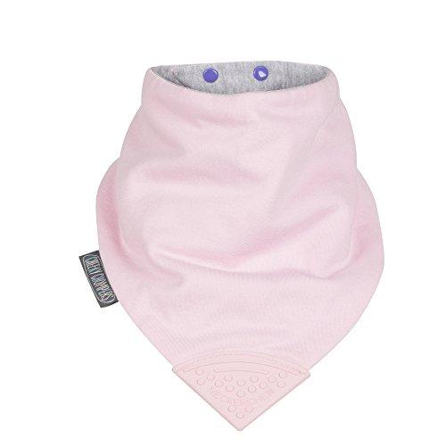 the-neckerchew-bavaglino-con-dentaruolo-casual-colore-rosa-taglia-medium-da-bambini-giovani-e-adulti