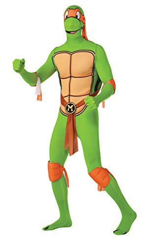 Michelangelo Teenage Mutant Ninja Turtles Kostüm für Herren, (Mutant Ninja Michelangelo Turtle Teenage Kostüme)