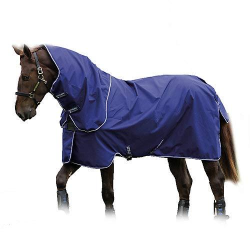 Horseware Amigo Hero ACY Plus Lite 0g Disc Front mit Halsteil Atlantic Blue (145)