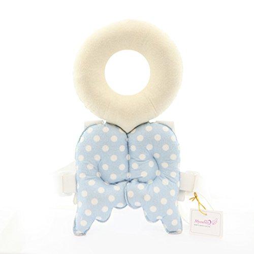 Tapis de protection pour la tête Tapis de tête pour enfant Toddler ( couleur : Bleu )