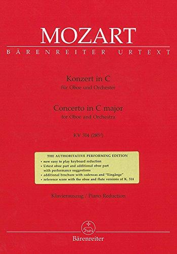 Konzert in C für Oboe und Orchester. KV 314. Klavierauszug