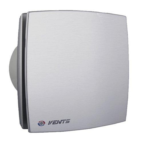 Edelstahl-front Vent (Bad-Lüfter Ventilator Wandlüfter 100 125 150 VENTS LD /LDA (Edelstahl, Ø 150))