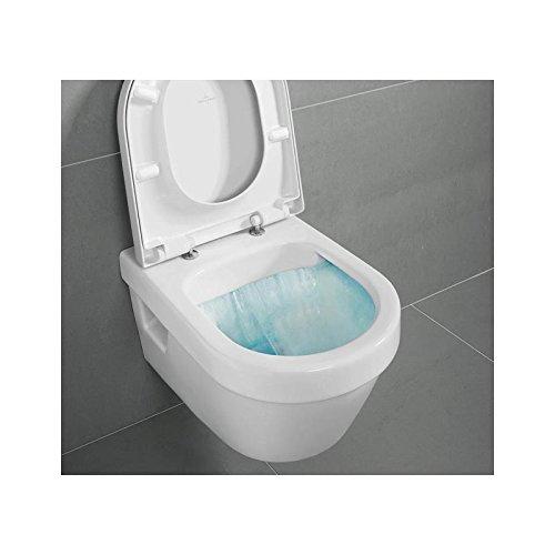 Villeroy & Boch Architectura Kombipack Wandtiefspül WC weiß mit CeramicPlus directflush mit Sitz softclosing 5684HRR1