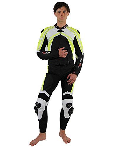 Tschul-Neon-Star-Combinazione-moto-di-pelle