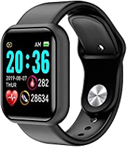 Smartwatch, 1,3 pollici, display touch a colori, fitness tracker, con cardiofrequenzimetro, impermeabile IP67,