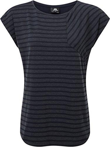 Mountain Equipment Damen Silhouette T-Shirt, Stripe/Cosmos, Size: 12 -