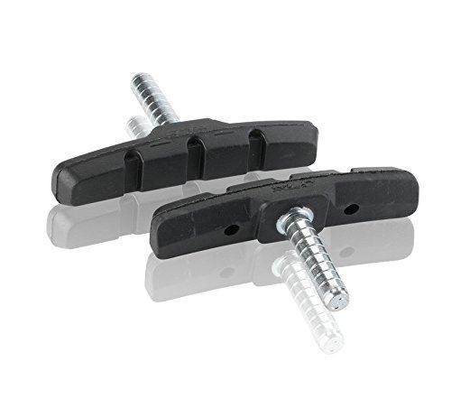 XLC Bremsschuhe Cantilever BS-C03 4er Set 70 mm, schwarz, 2500381400