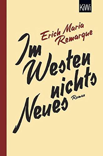 Preisvergleich Produktbild Im Westen nichts Neues: Roman. Ohne Materialien