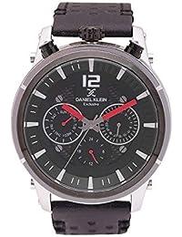 (Renewed) Daniel Klein Analog Gunmetal Dial Men's Watch-DK11378-1