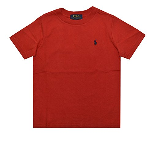 Ralph Lauren Jungen T-Shirt, rot (Boys Ralph Lauren Top Polo)
