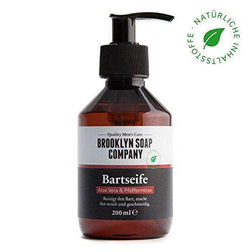 Shampoing à barbe, savon à barbe Beard Wash 200 ml  nettoyage et entretien barbe -...