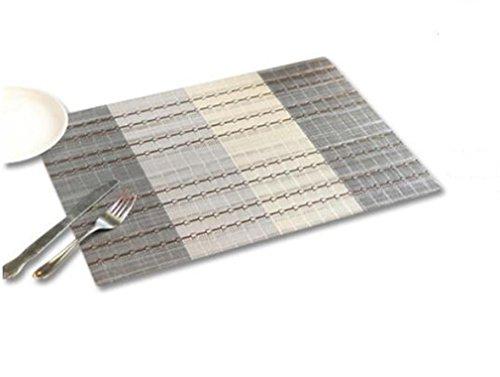 xiaomeixi-tovaglietta-set-di-4-tovagliette-pvc-lavabile-table-mats-protector-tavolo-decorazioni-grig