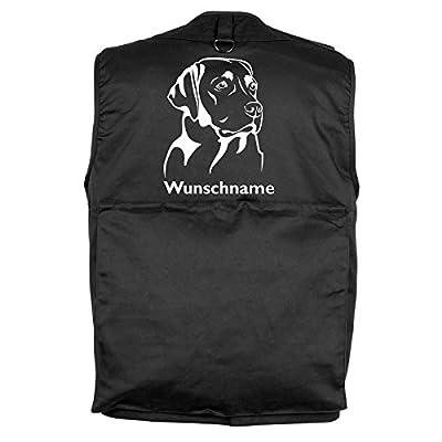 Tierisch-tolle Geschenke Labrador - Hundesportweste mit Rückentasche und Namen von Tierisch-tolle Geschenke - Outdoor Shop