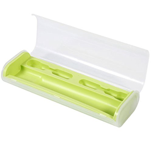 Elektrische Zahnbürstenaufbewahrungsbox für Oral-B, Woopower, tragbar, mit Aufbewahrungshalter für sicheres Reisen, als Badezimmerzubehör (Serie Kompakt Ersatz-bürstenkopf)