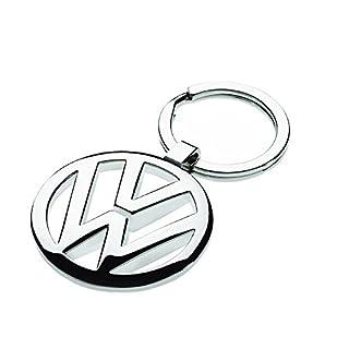 Volkswagen 000087908 Schlüsselanhänger, Silber