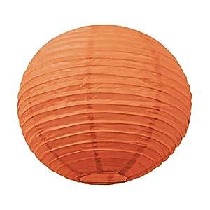 Tim & Puce 502112S - Farolillos japoneses (15 cm), Color Naranja