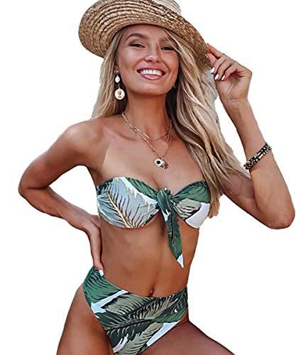 JFan Mujer Conjunto De Bikini Traje Baño 2019 Push