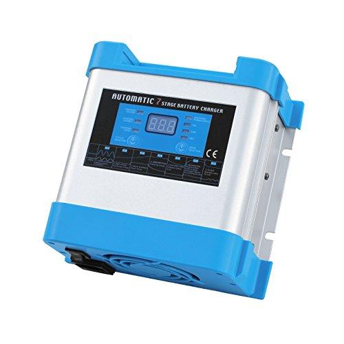 10A 12V Intelligente Automatische mehrstufiger Akku-Ladegerät für SAFE unbeaufsichtigt Laden von eine oder mehrere 12V Batterien von 230V AC Netzteil