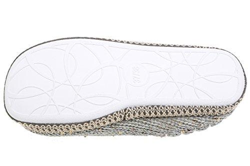gibra, Pantofole donna Grau
