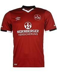 Umbro Herren FC Nuernberg Home Trikot Fussball Kurzarm Shirt Heimtrikot 2016-2017
