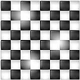 Wallario Möbeldesign/Aufkleber, geeignet für IKEA Lack Tisch - Schachbrett Muster in 55 x 55 cm