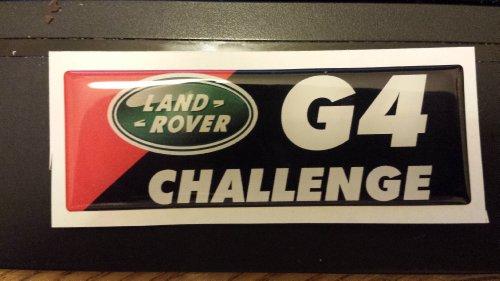 Land/Range Rover-G4Challenge 3D Effekt selbstklebend Badge Emblem - Emblem Badge
