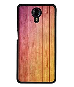 PrintVisa Designer Back Case Cover for Micromax Canvas Xpress 2 E313 (shaded bright glossy finish wooden)