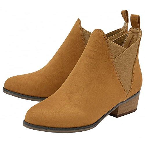 alla caviglia donna Stivali DolcisRonni Brown wqZSxUcC5