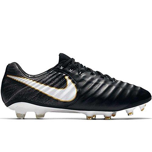 Nike Herren Tiempo Legend VII FG Fußballschuhe, schwarz/weiß, 41 EU