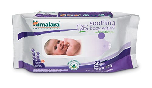 Himalaya Herbal Soothing Baby Wipes (72 Pieces)