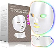 Project E Beauty Photon Skin Rejuvenation Face & Neck Mask | Wireless LED Photon Red Blue Green Therapy 7